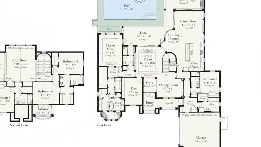 طراحی نقشه دکوراسیون داخلی مسکونی لاکچری