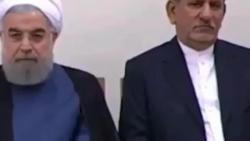 انتقاد رهبر جلو چشم حسن روحانی و دولت نسبت به حقوق نجومی و بیشرمی آنها