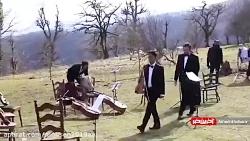 پشت صحنه «جهان با من برقص» با بازی هانیه توسلی