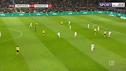 خلاصه بازی دورتموند 4-0 فرانکفورت