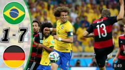 آلمان 7 و برزیل ۰ تحقیر در خانه خود