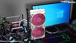 "فن خنک کننده  ""Pinkflow"" از AliExpress: نقد و بررسی CLC White and Cooling's CLC"