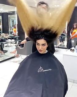 مدلـ مو ^-^ مدلـ مو و رنگـ مو برایـ موهایـ فر
