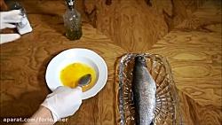 آموزش آشپزی ---> ماهی شکم...
