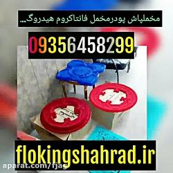 لیست قیمت دستگاه مخمل پاش صنعتی / مخمل پاش بردکره /02156573155