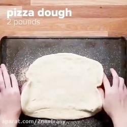 آشبزی پیتزا خورشید