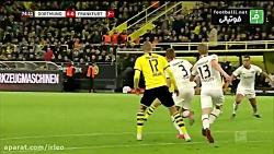 خلاصه بازی دورتموند 4 - 0 فرانکفورت