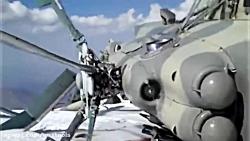 سقوط و نقص فنی هلیکوپتر