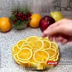 طرز تهیه برگه پرتقال برای عید نوروز