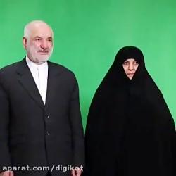 کلیپ باورنکردنی یک زن و شوهر کاندید انتخاباتی مجلس