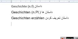 کلمات جدید درس 1 - کتاب A2.1