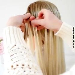 مدل موی حصیری زیبا