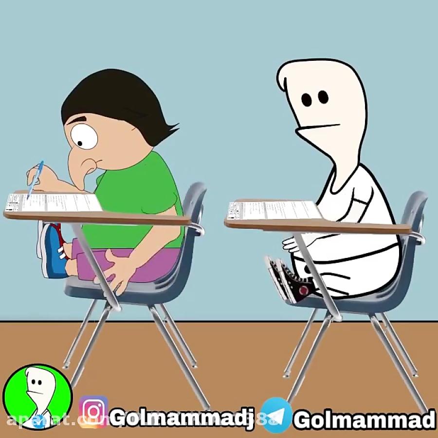 تقلب از اکبر و سرویس کردن معلم خود