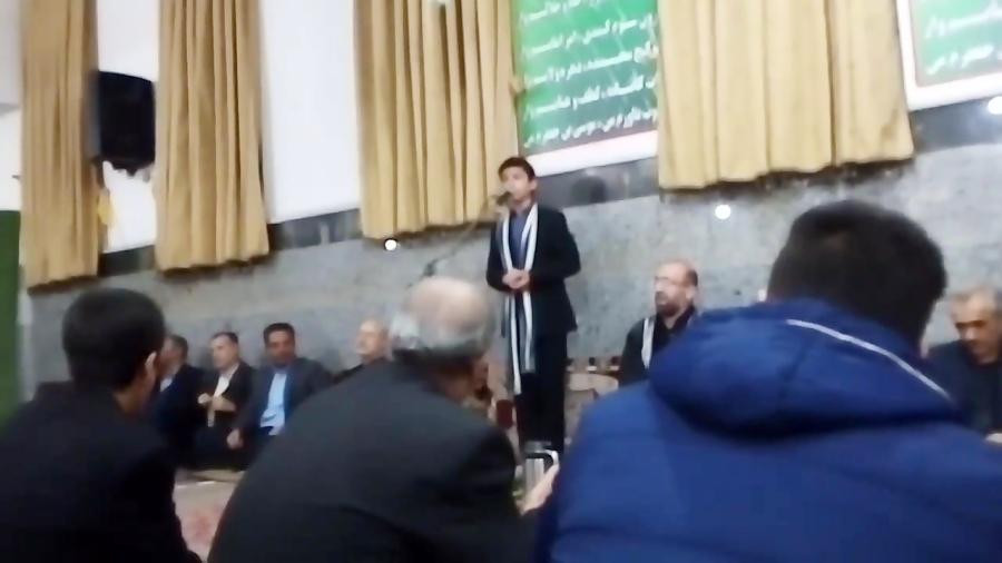 روضه طوفانی سید سعید خلیلی اردبیلی