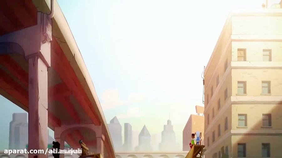 انیمیشن موج سواران مترو subway surfers