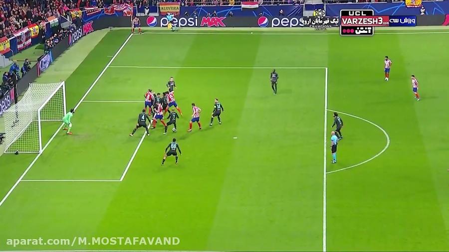 خلاصه بازی فوتبال:::اتلتیکو مادرید-1_0-لیورپول