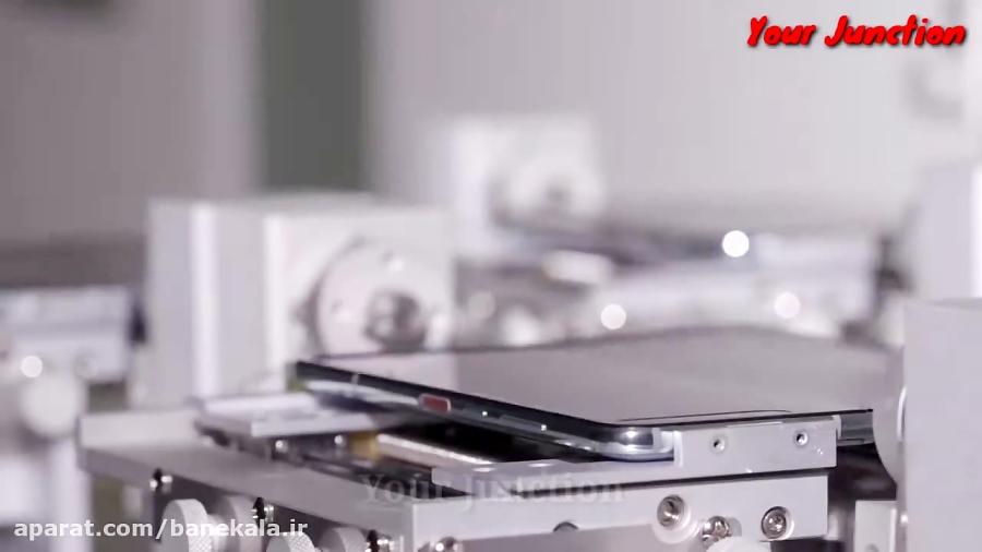خط تولید گوشی شرکت سامسونگ - Samsung_Galaxy_Factory_tour_2020