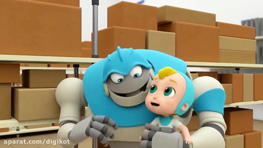 کارتون آرپو رباتی برای کودکان - آب نبات بزرگ