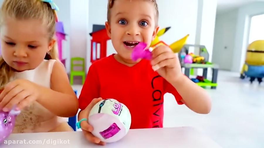 ماجراهای دیانا و روما - رقابت برای پیدا کردن اسباب بازی های جدید