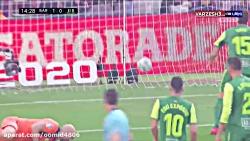 خلاصه بازی بارسلونا 5-0 ایبار (پوکر مسی )