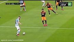 خلاصه بازی والنسیا 0-3 رئال سوسیداد