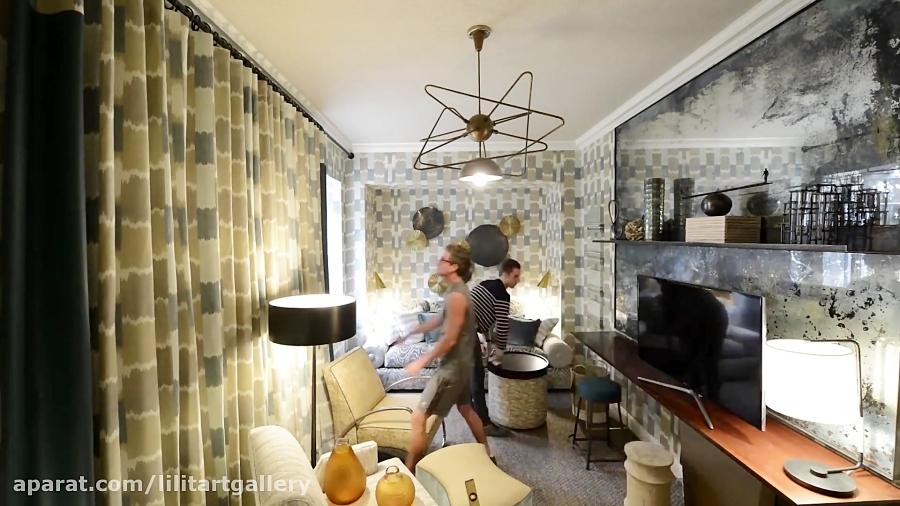 طراحی حرفه ای یک اتاق کوچک از صفر تا صد