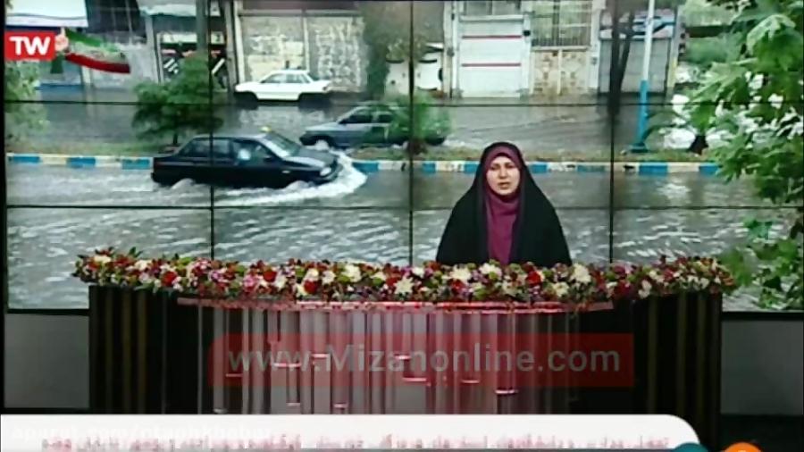کدام استانها از امروز ۵ اسفند درگیر بارندگی میشوند؟