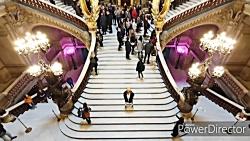 هایپرلپس بازدید از اپرا گارنیه پاریس