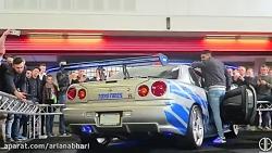 نمایشگاه خودرو های فیل...
