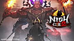 تیزر جدید بازی Nioh 2 - وی ...