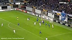 خلاصه بازی خنت1-1رم، دور برگشت مرحلهی یک شانزدهم نهایی لیگ اروپا