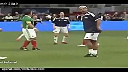 14 تکنیک در جهان فوتبال ...