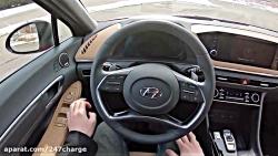 تست رانندگی با سوناتا 2020