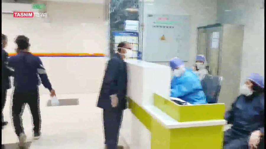 روایت تسنیم از محل قرنطینه بیمارستان رازی اهواز
