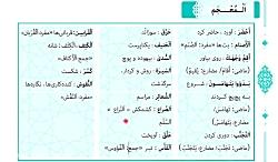 ویدیو روش مطالعه المعجم درس اول عربی دوازدهم