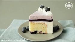 لذت آشپزی - طرز تهیه چیز کیک تمشک