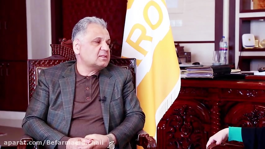 گفت وگو با خلیل محمد زاده مدیر عامل شرکت آریا بارون