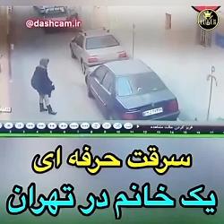 سرقت حرفه ای خودرو توسط...