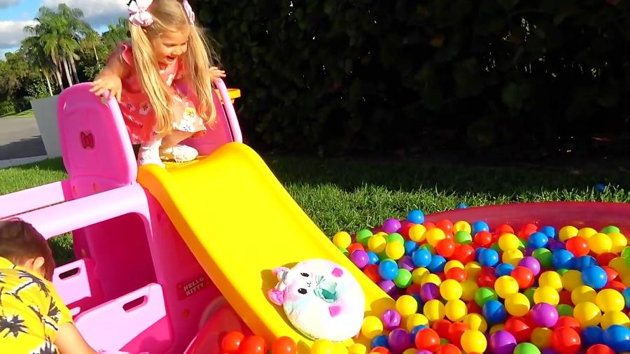 آشنایی با استخر توپ کودکان