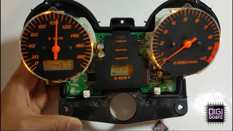 تعمیر کیلومتر موتور هوندا سنگین