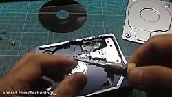راه اندازی موتور براشلس هارد دیسک