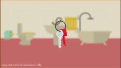 نکات بهداشتی نگهداری وسایل شخصی - موشن گرافیک
