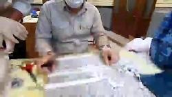 تولید روزانه 2000 ماسک توسط بسیجیان منطقه یک تهران