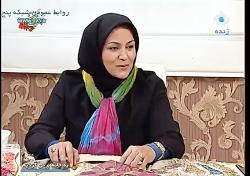 تزیین سینی  - خانم احمدی