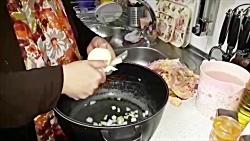آموزش آبگوشت سنتی ترکی همراه با خاله سیما