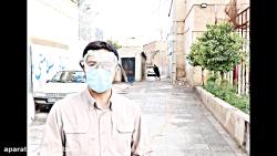 ضدعفونی مناطق محروم شیراز توسط بسیج دانشجویی فارس