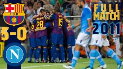 فول مچ : بازی بارسلونا 5-0 ناپولی ( 2011 )