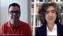 گفتگوی علی علیزاده با حمزه غالبی درباره واکنش کشورهای مختلف به کرونا