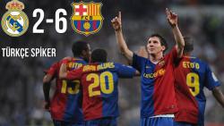 فول مچ : رئال مادرید 2-6 بارسلونا ( لالیگا , 2009 )