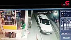 فیلم حمله به یکگ مغازه در دزفول
